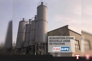 Avec l'acquisition du fabricant polonais KMK Gips, le groupe Toupret montre sa croissance en Europe de l'Est. [©Toupret]