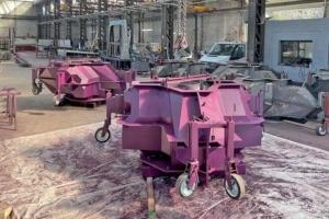MCB doit construire 30 moules permettant la préfabrication de xblocPlus en béton non armé [©MCB]