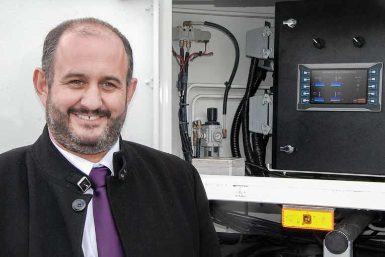 Nelson Morgado est le président de Quali Parts & Services.  [©Michel Roche]