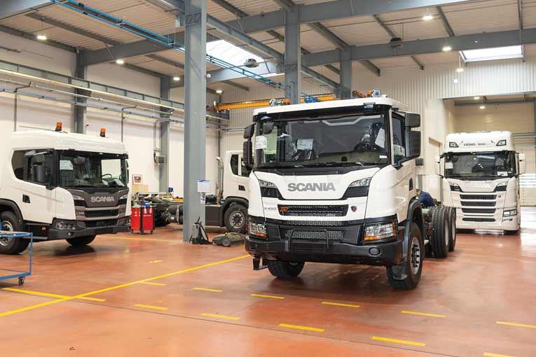 Le Caps assure l'adaptation des véhicules aux carrosseries qu'ils doivent recevoir. [©ACPresse]