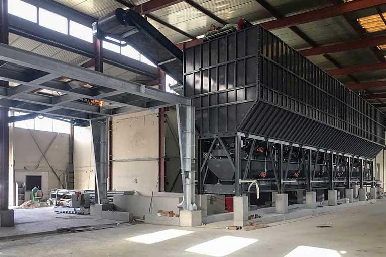La nouvelle centrale 3Béton est construite à l'intérieur d'un bâtiment fermé.  [©3Béton]