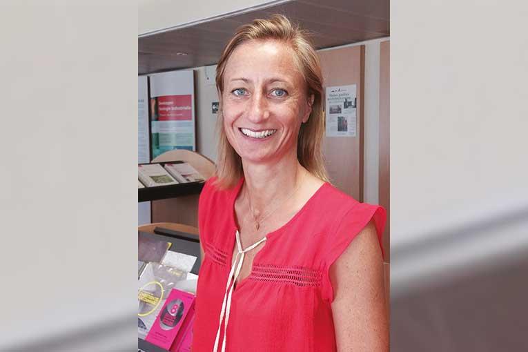 Architecte de formation, Claire Barbou est secrétaire générale de Bétocib et directrice du Trophée Béton.  [©Bétocib]