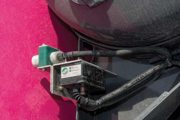 Les capteurs Wayzz permettent notamment de géolocaliser les toupies et d'identifier les ajouts d'eau. [©Wayzz]