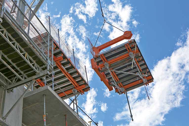 La TopDalle d'Alphi est particulièrement adaptée pour la réalisation de balcons coulés en place.   [©Alphi/Eric Perret]