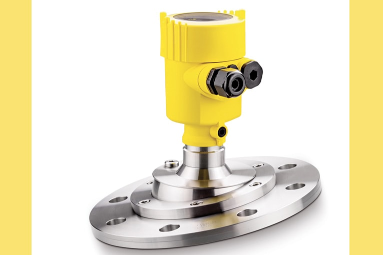 Le Vegapuls 69 permet une mesure au radar du vrac. [©Vega]