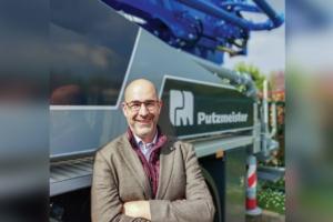 Iván Martinsanz est le nouveau directeur général de Putzmeister France, depuis quelques moins maintenant. [©Putzmeister]