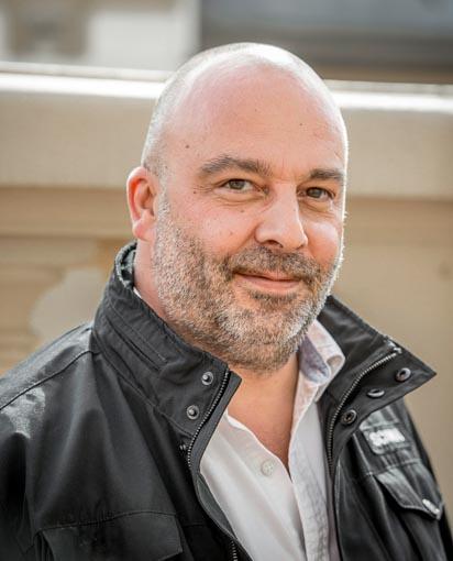Emmanuel Aldeguer est commercial Scania sur la zone Méditerranée. [©Fred Boyadjia]