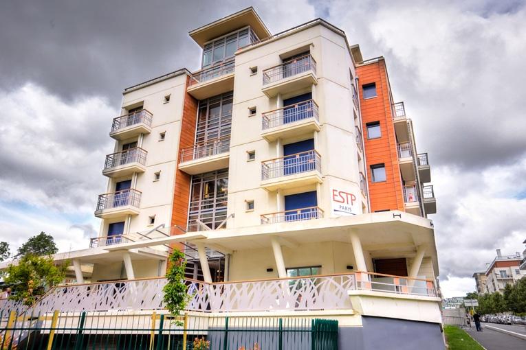 D'une surface totale de 2 071 m², 87 logements aménagés accueillent désormais les étudiants dans des locaux modernes et fonctionnels. [©Spie Batignolles]