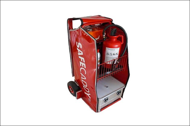 Safecaddy rassemble tous les éléments nécessaires aux premiers secours. [©Safecaddy]