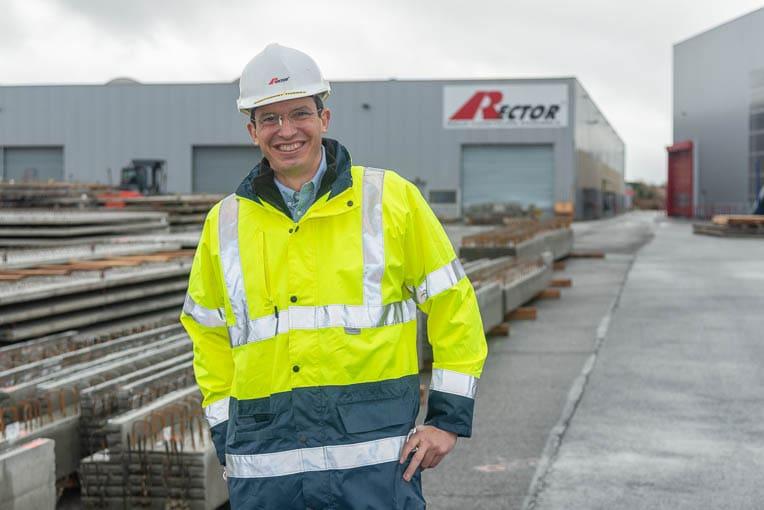 Thierry Boutonnet est le directeur régional Rector et le responsable de l'usine de Tournefeuille. [©ACPresse]