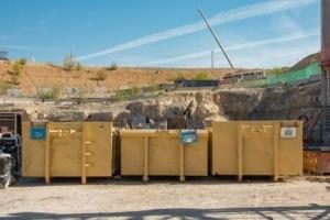 Un éco-organisme pour le développement de la filière de recyclage des matériaux de construction a été créé par les syndicats et les fédérations des industriels de la construction. [©ACPresse]
