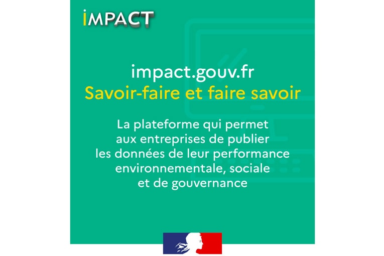 a plate-forme Impact va permettre aux entreprises signataires de publier, dès à présent, les données de leur performance environnementale, sociale et de gouvernance (ESG). [©DR]