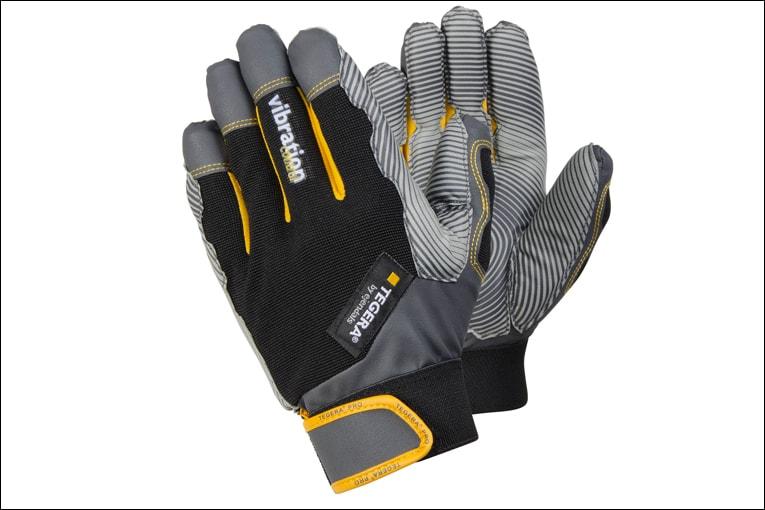 La marque suédois Ejendals a vue son gant anti-vibration Tegera récompensé lors d'un test au Royaume-Unis. [©Ejendals]