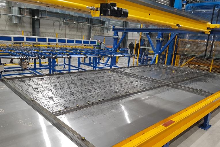 Les installations de production peuvent être modifiées et upgradées en fonction des besoins des préfabricants. [©Progress Group]