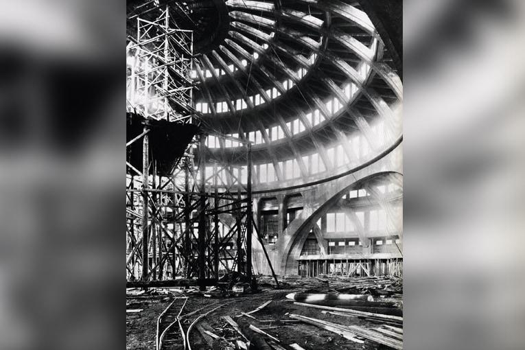 Au début du printemps 1913, la superstructure est complète, les travaux de finition peuvent débuter. [©DR]