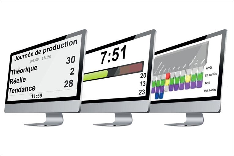 Le logiciel de gestion permet le flux des données à toutes les machines, l'optimisation des productions et l'aide aux collaborateurs dans leurs tâches. [©Progress Group]