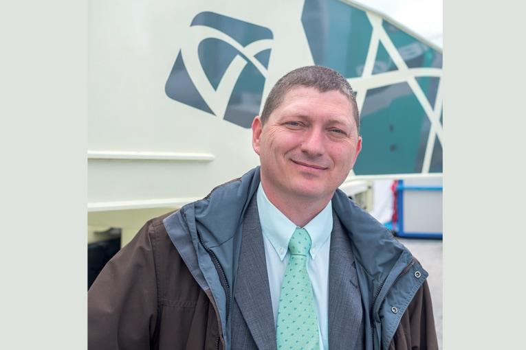 Jean-Marc Wattebled est le gérant de Flypump, représentant de Hyundai Everdigm Corp. [©ACPresse]