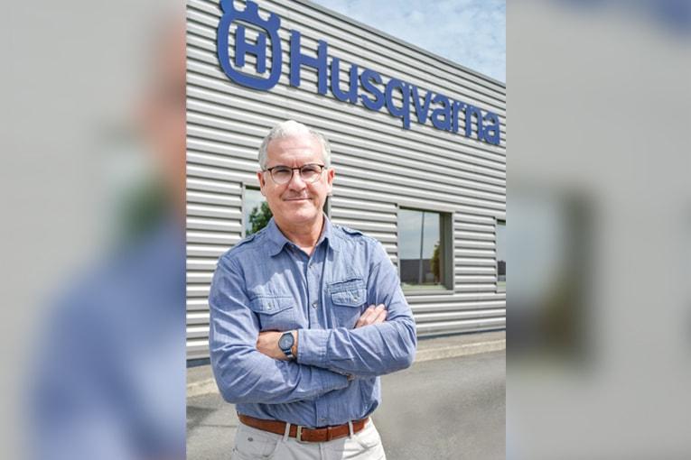 Olivier Touzé, Dg d'Husqvarna Construction France. [©Husqvarna]