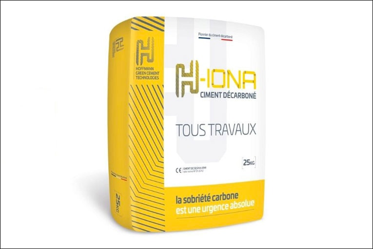 H-Iona est le dernier-né des ciments à empreinte carbone réduire de Hoffmann Green Cement Technologie. [©HGCT]