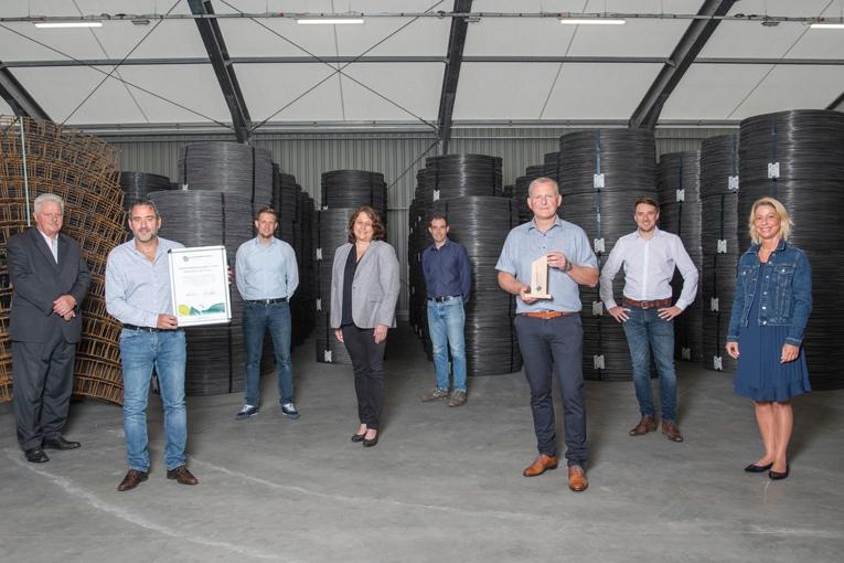 """Sotralentz Construction est officiellement """"une entreprise climatiquement neutre"""". [©Sotralentz Construction]"""
