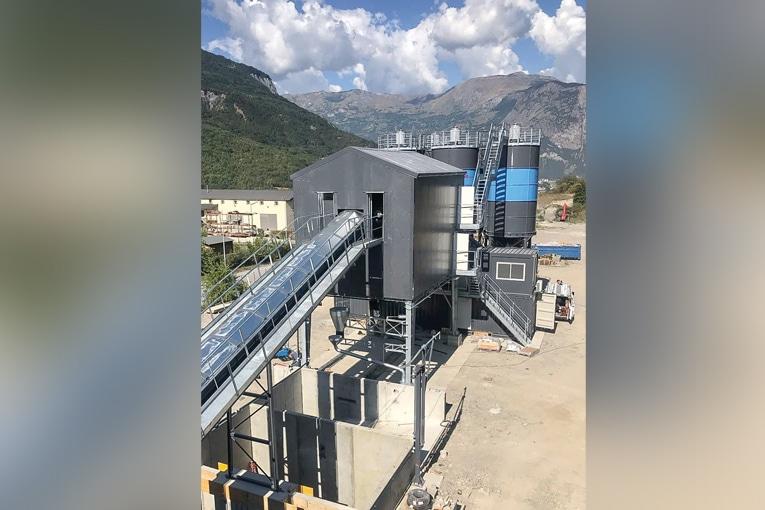 La nouvelle centrale MCF de 3 Béton à Saint-Julien-Mont-Denis, en Maurienne. [©3 Béton]