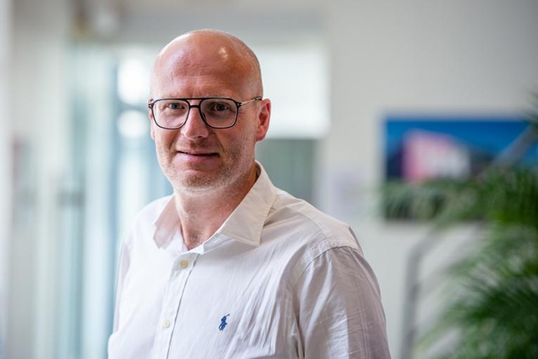 Anthony Planté est le nouveau directeur commercial réseau enseigne chez VM, filiale du groupe Herige. [©Charles Marion]