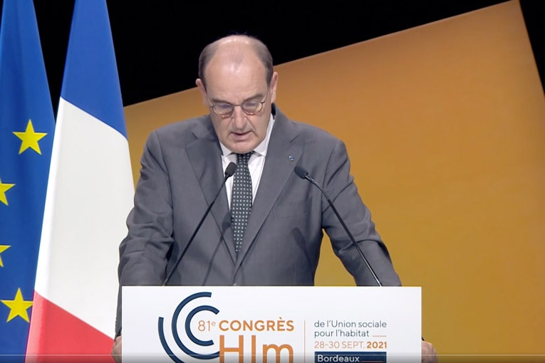 Jean Castex, Premier ministre, a annoncé plusieurs mesures pour la relance de la construction neuve. [©DR]
