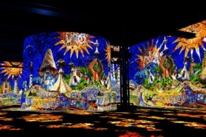 L'oeuvre de Gaudì s'expose à l'Atelier des Lumières. [©Cutback]