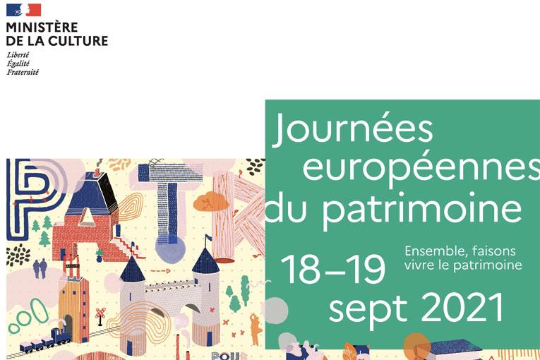 Les journees du patrimoine auront lieu du 18 au 19 septembre 2021 [©Ministère de la Culture]