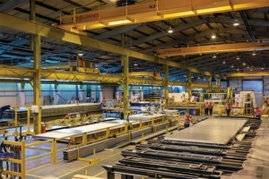 Portakabin cherche aussi à s'ancrer dans la future RE 2020 au niveau de ses process industriels. [©Portakabin]