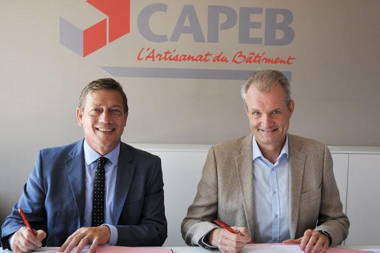 capeb et herige signent leur partenariat