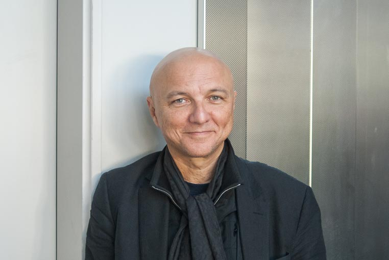 Portrait de Franck Hammoutène, en 2010.