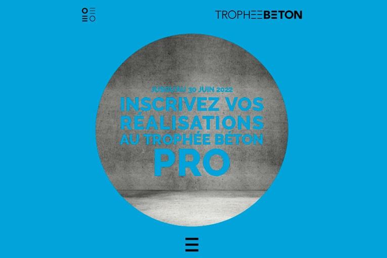 Le Trophée Béton Pro a pour objectif de récompenser des réalisations exemplaires en béton, construites en France au cours des cinq dernières années. [©Trophée Béton Pro]