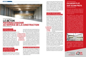 [©Techni Prefa]Le béton matériau d'avenir au service de la construction