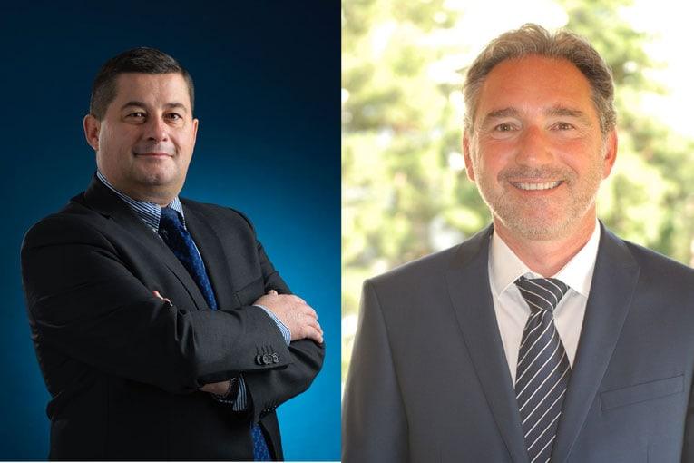 Nouvelle direction chez Doka France avec l'arrivée de Nicolas Ensminger (à gauche), au poste de directeur général, et de Thierry Demingeon, comme directeur commercial. [©Doka]