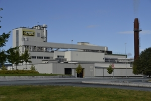 L'usine de Glava, à Stjørdal. [©Glava]