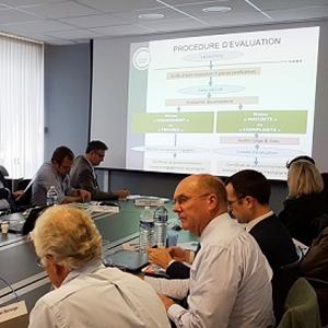 L'Unicem a réuni un comité composé des fédérations, des représentants professionnels et de l'Etat, pour échanger sur sa charte RSE. [© Unicem ]