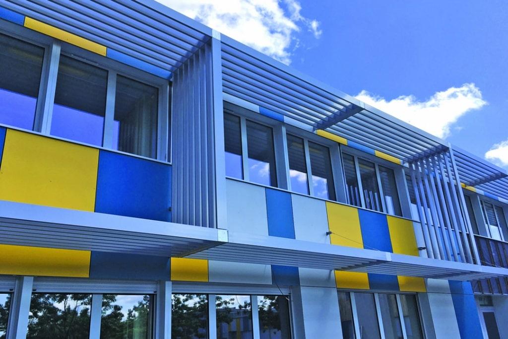 Le collège de la Reinetière en Loire-Atlantique, après rénovation. [©LCA]
