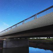 A Aigrefeuille-sur-Maine (44), le Bétoluisant de Cibetec habille les deux nouvelles liaisons entre Clisson et l'A83. [©Cibetec]