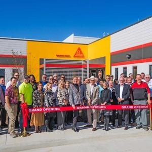 Le nouveau site texan de Sika lors de son inauguration début décembre, près de Houston. [© Sika ]