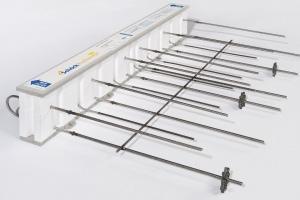Rupteur structurel de ponts thermiques Rutherma de Schöck. [©Schöck]