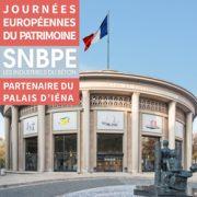 Le temps d'un week-end, le palais d'Iéna, seul bâtiment de la République construit en béton, qui accueille depuis 1959 le Conseil économique, social et environnemental (Cese), ouvrira ses portes au grand public. [©SNBPE]