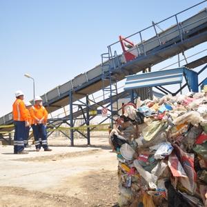 En 2017, 10 Mt de déchets ont été recyclées par les équipes de LafargeHolcim. [©LafargeHolcim]