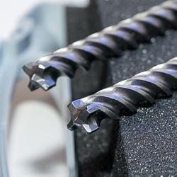 Le foret SDS max-8X de Bosch pour une durabilité et une résistance exceptionnelles dans les applications difficiles. [©Bosch]