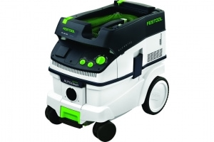 L'aspirateur CTL 26 E de Festool permet aux professionnels de nettoyer les chantiers rapidement et facilement. [©Festool]