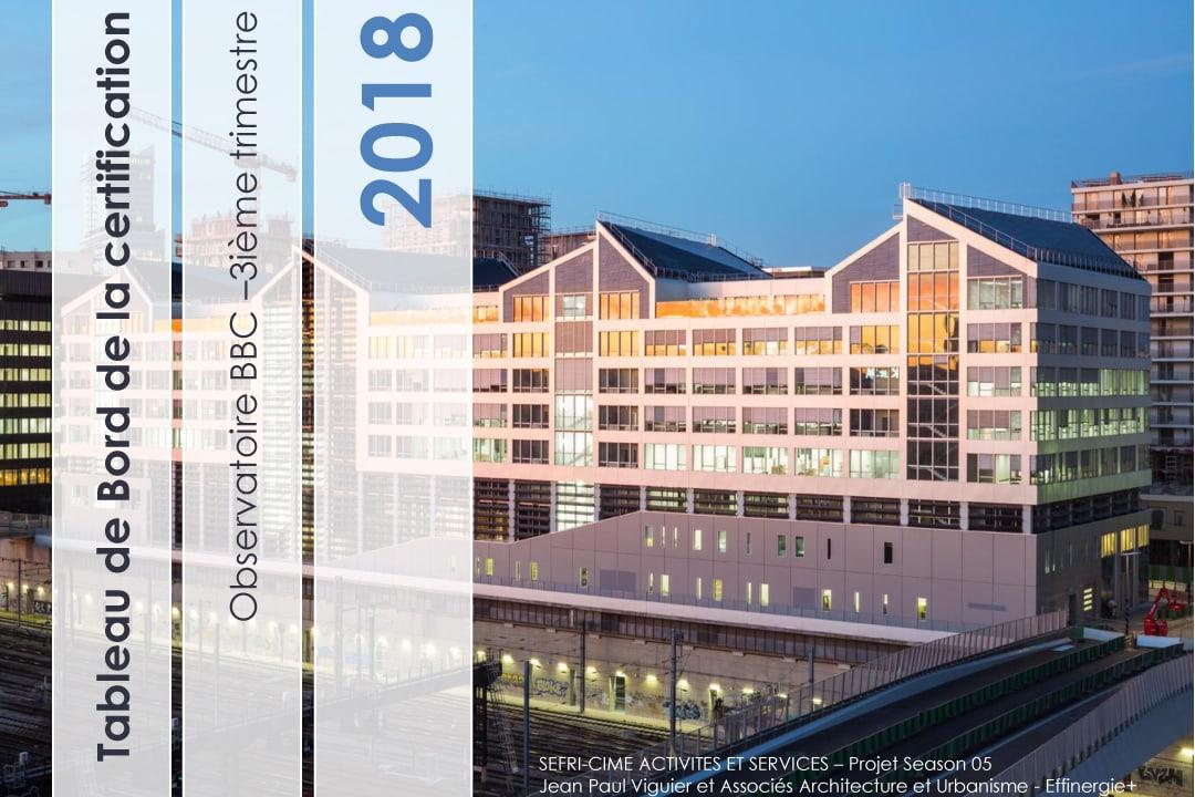 L'Observatoire BBC annonce qu'Effinergie 2017 a franchi la barre des 1 500 logements. [©Observatoire BBC]