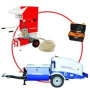 Le pack Project Chanvre Compact Pro 60 permet de réunir tout le matériel nécessaire à l'application du mélange chanvre et chaux. [© Euromair Distribution]