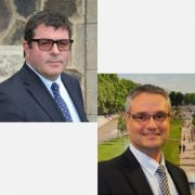 Pierre Berger et Philippe Puthod, élus président et président délégué de la FRTP Auvergne - Rhône-Alpes. [©FRTP Auvergne - Rhône-Alpes]