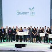 Les lauréats de la 3e édition du Quarry Life Award organisé par HeidelbergCement.