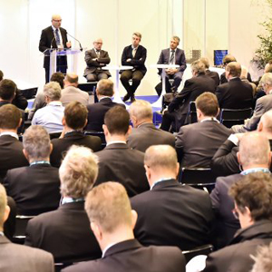 Le salon international de la construction et des Infrastructure, Intermat aura lieu du 23 au 28 avril 2018, à Paris. [©Intermat]